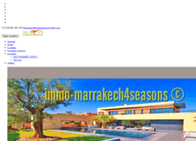 immobilier-marrakech-4seasons.com