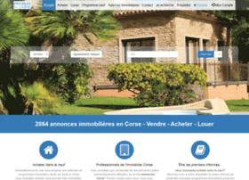 immobilierencorse.com
