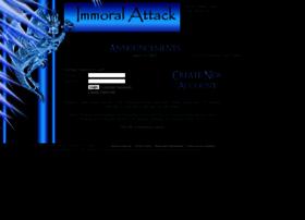 immoralattack.com