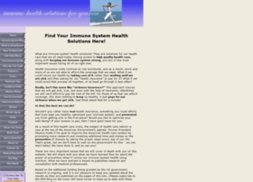 immune-health-solutions-for-you.com