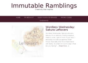 immutableramblings.com