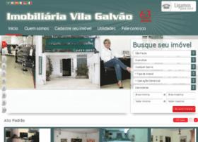 imobiliariavilagalvao.net
