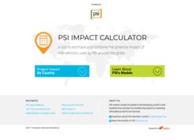 impactcalculator.psi.org