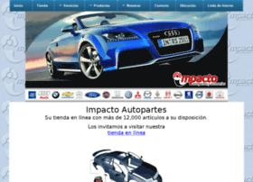 impactoautopartes.com