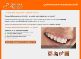 implantesdentalescali.clinicasonrisaperfecta.com