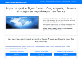Import-export.enligne-fr.com