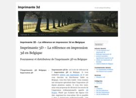 imprimante-3d.be