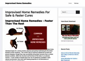improvisedhomeremedies.com