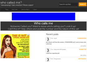 in.who-called.info