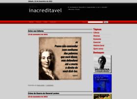 inacreditavel.com.br