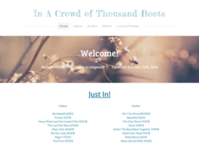 inacrowdofthousandboots.weebly.com
