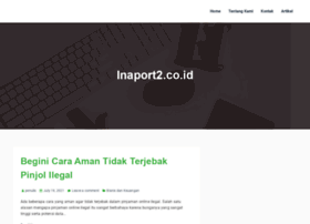 inaport2.co.id