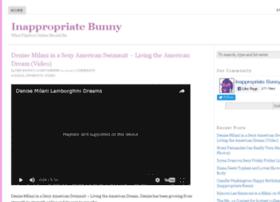 inappropriatebunny.com