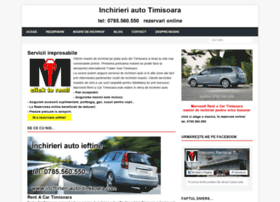 inchirieri-auto-timisoara.com