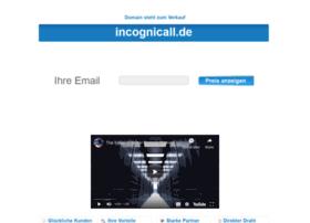 incognicall.de