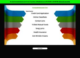 increasebrainpower.com