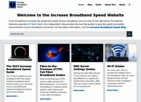 increasebroadbandspeed.co.uk