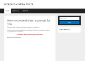 increasememorypower.net