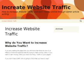 increasewebsitetraffic.info