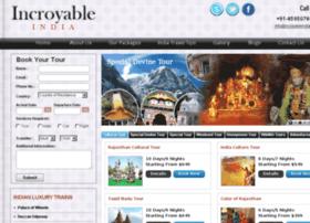 incroyableindia.com
