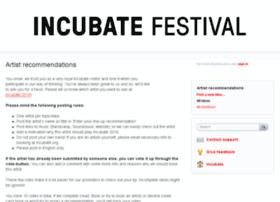 incubate.uservoice.com
