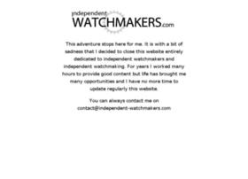 independent-watchmakers.com