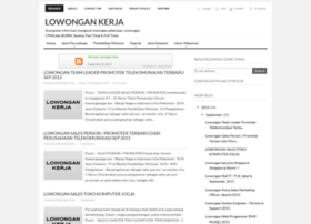 index-lowongankerja.blogspot.com