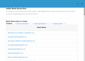 indiabankbranches.com