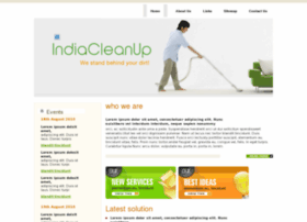 indiacleanup.com