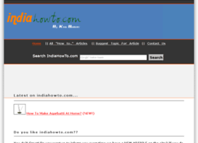 indiahowto.com