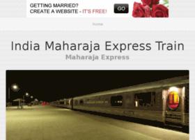 indiamaharajaexpresstrain.bravesites.com