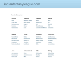 indianfantasyleague.com