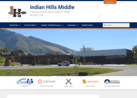 indianhillsmiddle.canyonsdistrict.org