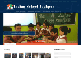indianschooljodhpur.com