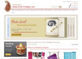 Indianscrollweddingcards.com