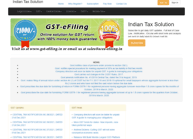 indiantaxsolutions.com