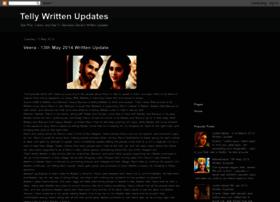 indiantelevisionwrittenupdates.blogspot.in
