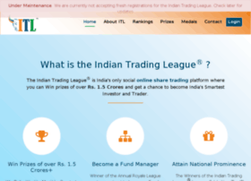 indiantradingleague.com
