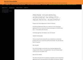 indiarentalagreement.com