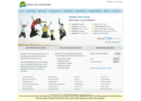 indiawebsolutions.com