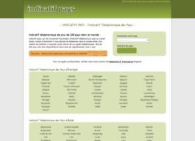 indicatif-pays.com