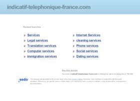 indicatif-telephonique-france.com