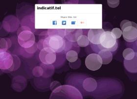indicatif.tel