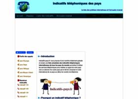 indicatifs-pays.fr