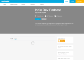 indiedevpodcast.podomatic.com