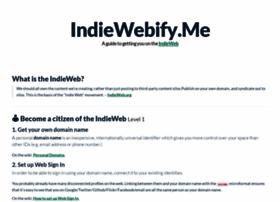 indiewebify.me