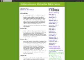 indiscrecionesychimentosentrerrianos.blogspot.com