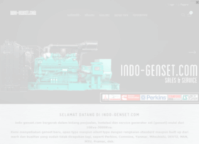 indo-genset.com