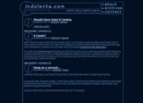 indolents.com