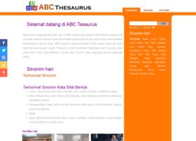 indonesian.abcthesaurus.com